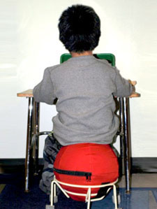 Many youngsters who do not do well on conventional seating will stay focused and attentive for longer periods on an AlertSeat.