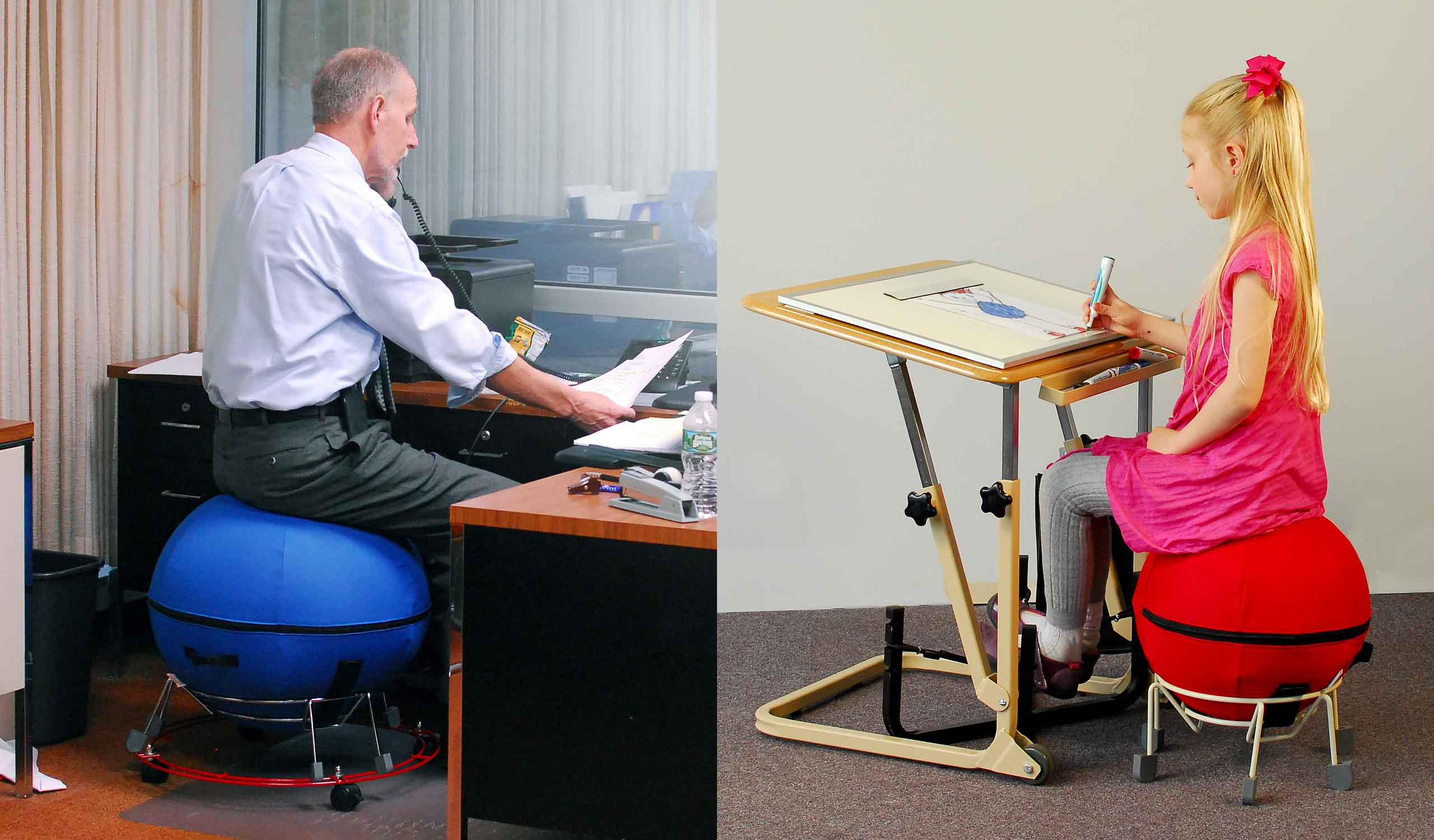 Alertseat | Therapeutic Ball Seating for Business and Education