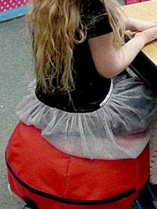 Alert Seat Ball in Classroom Use
