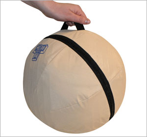 Alert Seat Therapeutic Ball Chair With Convenient Handle