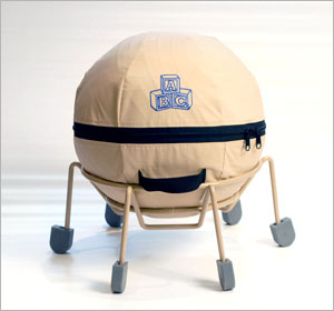 Alert Seat Therapeutic Ball Chair With Anti-Microbial Fabric